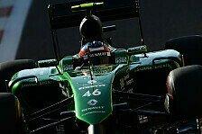 Formel 1 - Stevens will Caterham-Kram ersteigern