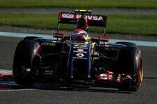 Formel 1 - Lotus: Maldonado besser als sein Image
