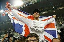 Formel 1 - Wird Hamilton britischer Sportler des Jahres?