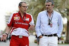 Ferrari-Gerüchte: Arrivabene zu Sauber, Domenicali bald zurück?