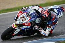 Superbike - Lowes am zweiten Tag in Jerez Schnellster