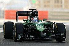 Formel 1 - Caterham darf 2015 mit 2014er-Auto starten