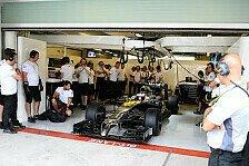 Formel 1 - Abu-Dhabi-Test: Neue Pannen bei McLaren-Honda