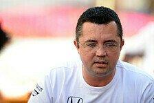 Formel 1 - Boullier: Habe keine Antwort auf die Krise