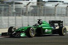 Formel 1 - Caterham-Verwalter weiter hoffnungsvoll