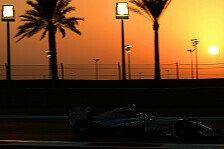 Formel 1 - Live-Ticker: Der Donnerstag in Abu Dhabi