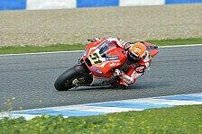 MotoGP - Pirro führt nassen Donnerstag an