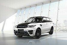 Auto - Range Rover Sport zum Gewinner getunt