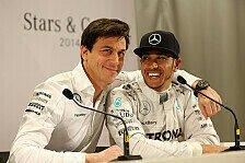 Formel 1, Toto Wolff bestätigt: Hamilton bleibt bei Mercedes