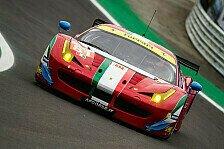 WEC - AF Corse mit mindestens drei Ferraris am Start