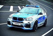Auto - Blaulicht BMW X4: Tuning, das die Polizei erlaubt