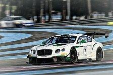 Mehr Sportwagen - Bentley Team HTP: Line-Up bestätigt