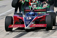 Mehr Motorsport - IRL-Training in Homestead: Buddy Rice Schnellster!