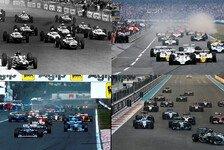 Formel 1 - Das Punktesystem in Wandel der Zeit