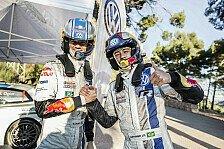 WRC - Fußballstar Neymar startet mit Ogier durch