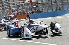 Formel E - Kein glückliches Ende für Brabham