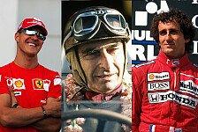 Formel 1 - Zahlenspiele: Meister der Effizienz