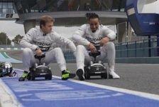 Formel 1 - Die coolsten Team- und Fahrer-Videos 2014
