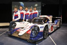 WEC - Weltmeisterlicher Empfang für Toyota in Köln