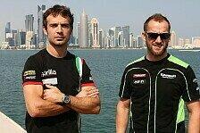 Superbike - Guintoli und Sykes von neuen Teamkollegen gebügelt