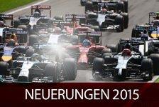 Formel 1 - Die Neuerungen 2015