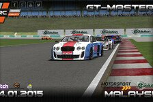eSports - SRC GT-Masters: Vorschau 5. Wertungslauf Malaysia