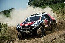 Dakar - Gelungener Auftakttag für Team Peugeot-Total