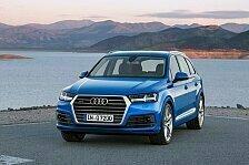 Auto - Langstrecken-Test im Audi A7 Sportback