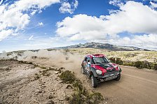 Dakar - Mini verteidigt Führung in der Gesamtwertung