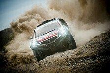 Dakar - Freud und Leid bei Peugeot-Piloten