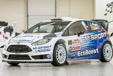 WRC - M-Sport 2015 im Ford-Retro-Design