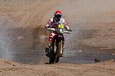 Dakar - Motorräder: Barreda und Coma duellieren sich