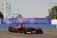 Formel E - Training: Sarrazin vorn - d'Ambrosio kaputt
