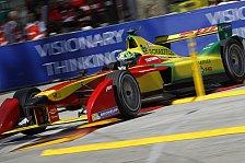 Formel E - 2. Training: Di Grassi an der Spitze