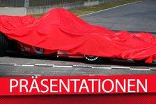 Formel 1 - Übersicht: Die F1-Präsentationstermine für 2016