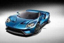 Auto - Europapremiere für den Ford GT