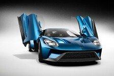 Auto - Legende mit 600 PS: Ford zeigt neuen GT