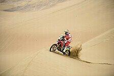 Dakar - Motorräder: Kampf um Führung spitzt sich zu