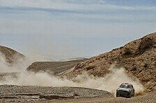 Dakar - MINI feiert Dreifachsieg auf der 9. Etappe