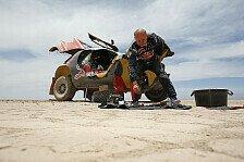 Dakar - Peugeot: Defektteufel stoppt Peterhansel