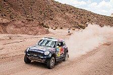 Dakar - Al-Attiyah auf dem Weg zum zweiten Titel