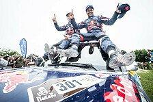 Dakar - MINI feiert vierten Gesamtsieg in Folge