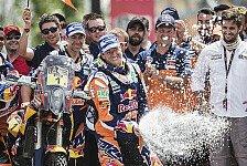 Dakar - KTM feiert 14. Dakar-Titel in Serie