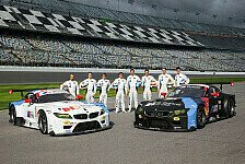 USCC - BMW Team RLL mit DTM-Stars nach Daytona