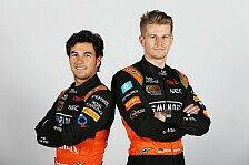 Formel 1 - Bilder: Force India - Fahrer & Helme