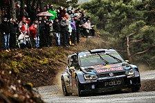WRC - Solider Einstand für Volkswagen Polo R WRC