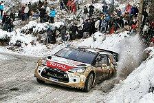 WRC - Meeke und Lefebvre in Monte Carlo im Citroen
