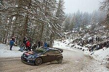 WRC - Schweden: Ogier schnappt sich Shakedown-Bestzeit