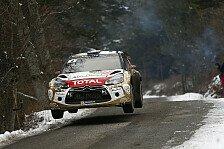 WRC - Loeb: Ich wollte einfach Spaß haben