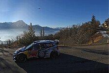 WRC - Monte Carlo: Volkswagen baut Dreifachführung aus